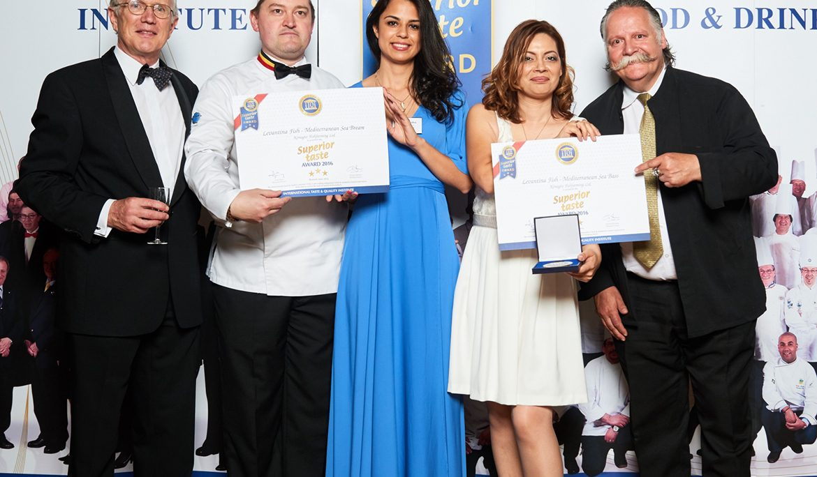 3 Golden stars awarded to Levantina fish